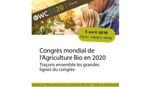 Congrès mondial de l'Agriculture Bio en 2020