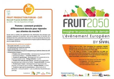 FRUIT PRODUCTION FORUM - Ctifl