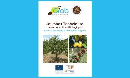 Journées Techniques Arbo Bio du GRAB du 9 au 11 décembre 2019