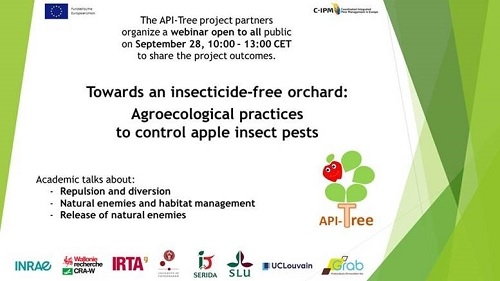 Webinaire : Towards an insecticide-free orchard
