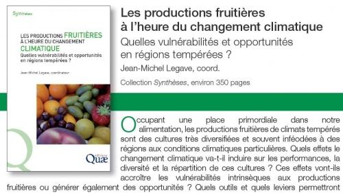 Les impacts du réchauffement climatique sur les espèces fruitières en France à dire d'experts